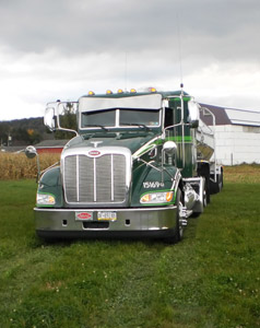 Profile of H R Ewell truck on a farm